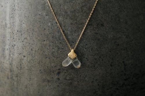 日本式双晶のネックレス No.6