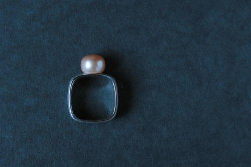 Syami ring +Pearl