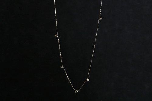 Meguru long necklace / K18WG