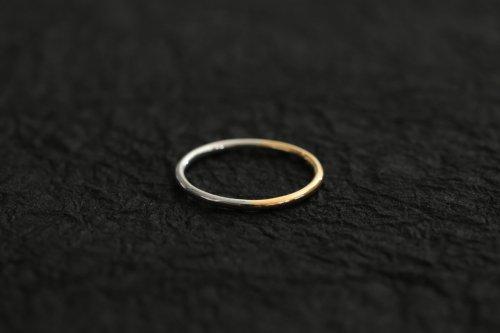 Half gold ring 1.5mm