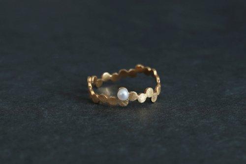 Shabon ring / K18