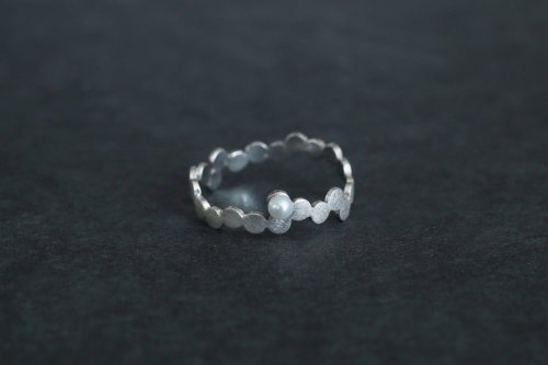 Shabon ring / Silver