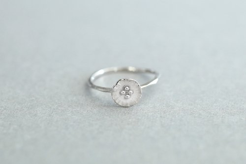 Petit flower ring / Silver