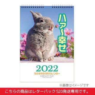 うさぎのふうた壁かけA3ハンガーカレンダー(レターパック510)