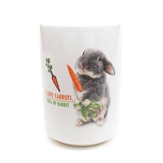 I Love Carrots. 湯のみ