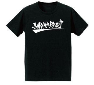 JAPAHARINETofficialロゴTシャツ(BK)