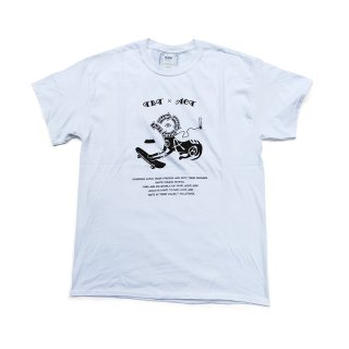 [TRASH BREEDS TRASH×ACT] SK8DOG Tシャツ