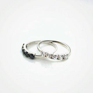 Five stones ROUND ring S SV
