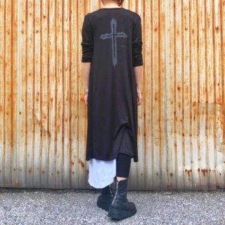 2019 Summer ブラック.ロングスリムレディースカーディガン【数量限定】
