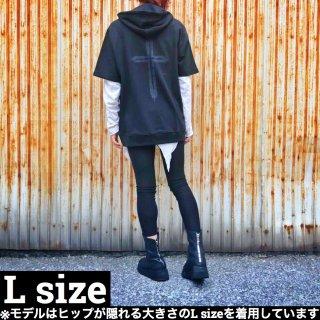 2019 Summer Lサイズ 半袖ハーフZIPパーカー【数量限定】