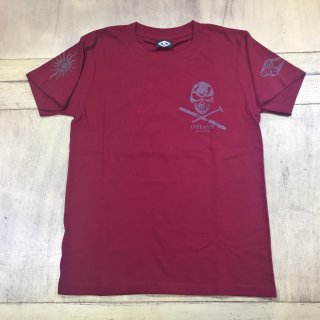【SALE】ONIAMI ファーストTシャツ バーガンディ XS