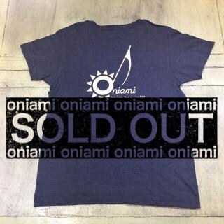 【SALE】M&O Tシャツ ネイビー(ノート) S