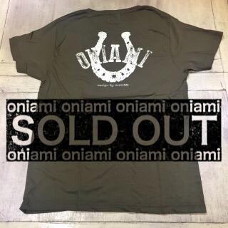 【SALE】M&O Tシャツ カーキ(バテイ) L