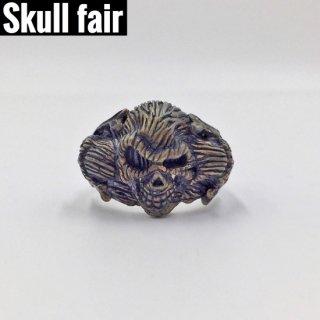【Skull fair】Woody 3ニヒルリング