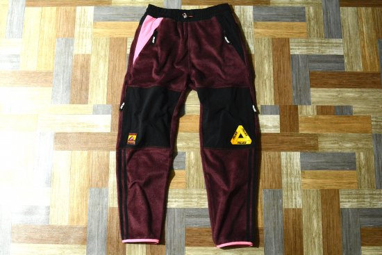 PALACE SKATEBOARDS × adidas POLAR TRACK PANT Marron (メンズ古着)