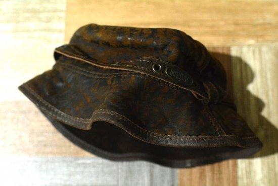 Vintage OVERLANDER レザー バケットハット ブラウン (USED&VINTAGE)