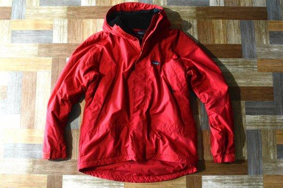 90's Vintage patagonia メンズ インファーノ ジャケット レッド (メンズ古着)