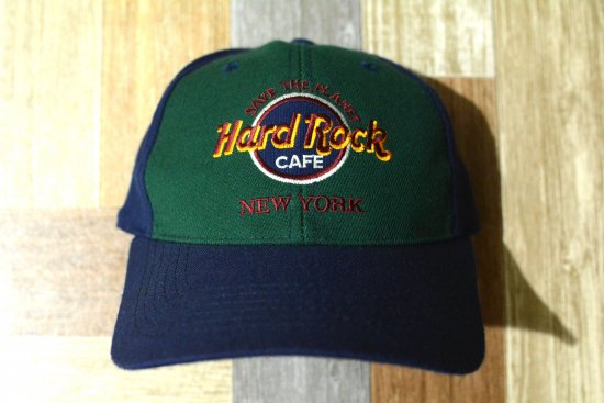90's Vintage HARD ROCK CAFE NEW YORK ロゴ キャップ (USED&VINTAGE)