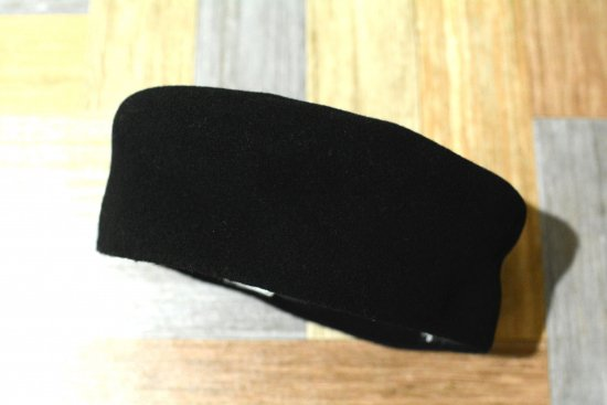 90's Vintage agnes b. フランス製 ウール ベレー帽 ブラック (USED&VINTAGE)