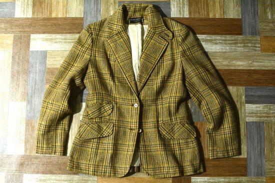Vintage haberdashery ツイード テーラード ジャケット (レディース古着)