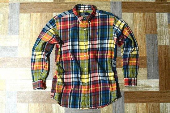 POLO RALPH LAUREN BD タータンチェック シャツ 150サイズ (キッズ古着)