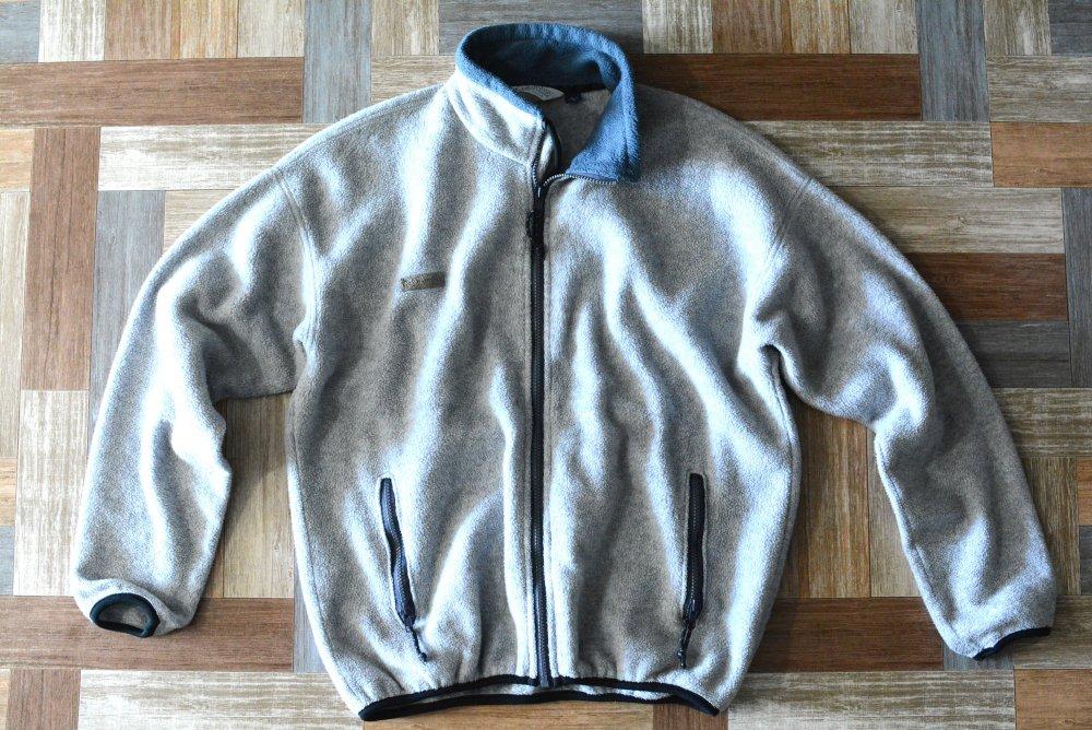 90's Vintage Columbia USA製 フリース ジャケット グレー (メンズ古着)