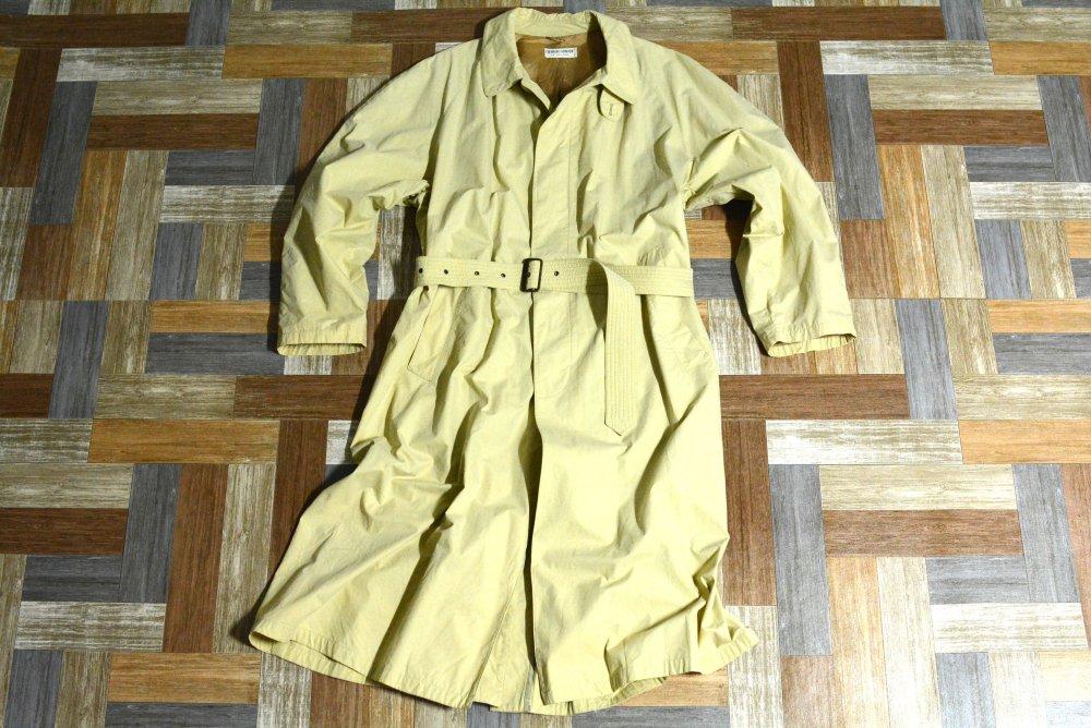 90's Vintage GIORGIO ARMANI イタリア製 ロング ステンカラー コート ベージュ (メンズ古着)