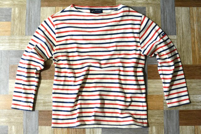 90's Vintage SAINT JAMES フランス製 バスクシャツ トリコロール (レディース古着)