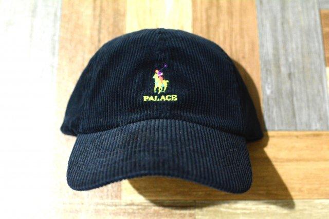 POLO RALPH LAUREN × PALACE SKATEBOARDS コーデュロイ 6パネル キャップ ネイビー (新品)