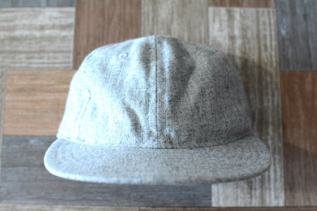 EBBETS FIELD USA製 ベースボール キャップ ヘザーグレー (USED&VINTAGE)