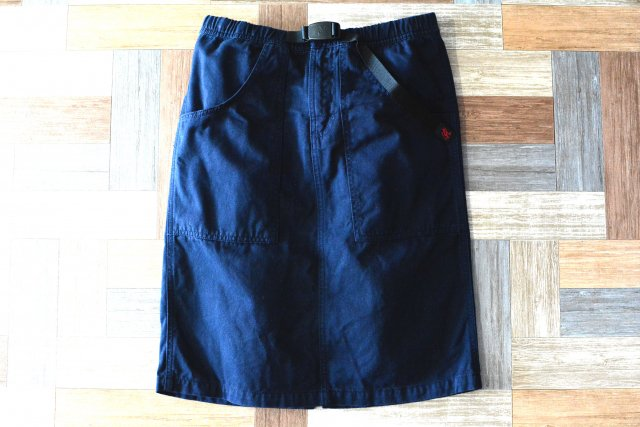 GRAMICCI クライミング スカート ネイビー (レディース古着)
