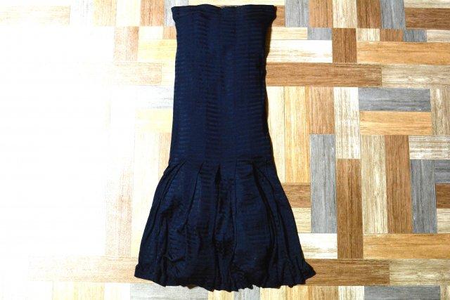 MISSONI イタリア製 マーメイドライン スカート ネイビー (レディース古着)
