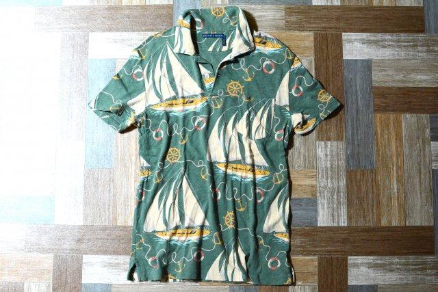 RALPH LAUREN ヨット柄 ポロシャツ (レディース古着)