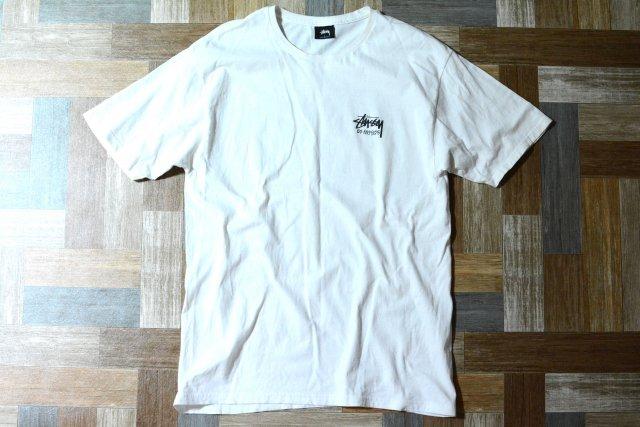 STUSSY LOS ANGELES ストック ロゴ Tシャツ (メンズ古着)