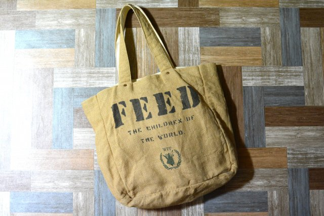 FEED Project リバーシブル トートバッグ (USED&VINTAGE)