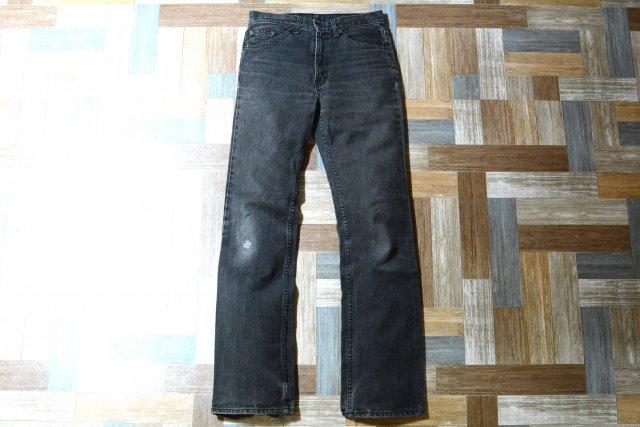 Levi's 517 ブーツカット デニム ブラック (メンズ古着)