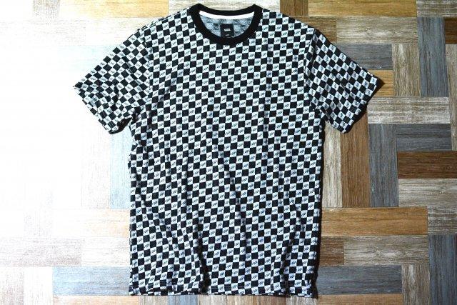 VAULT VANS × LQQK STUDIO ジャガード チェッカーフラッグ Tシャツ (メンズ新品)