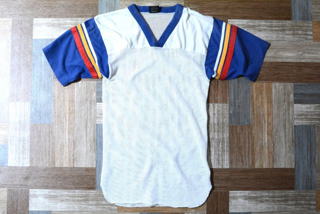 90's Vintage LOCKER TOPS USA製 メッシュ Tシャツ (レディース古着)