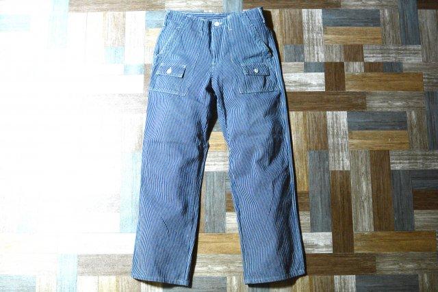 90's Vintage GUNG HO USA製 ヒッコリー ベイカー パンツ (メンズ古着)