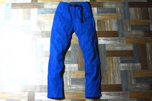 GRAMICCI ストレッチ クライミング パンツ ブルー (メンズ古着)