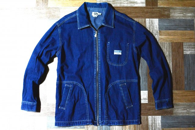 90's Vintage Calvin Klein Jeans ジップアップ デニム ジャケット (メンズ古着)