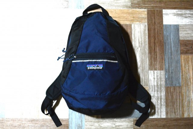 patagonia USA製 バックパック ネイビー×ブラック (USED&VINTAGE)