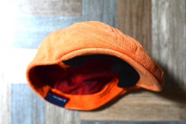 KANGOL パイル ハンチング オレンジ (USED&VINTAGE)