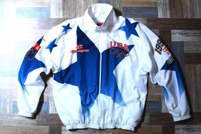 90's Vintage Champion アトランタ オリンピック トラック ジャケット (メンズ古着)