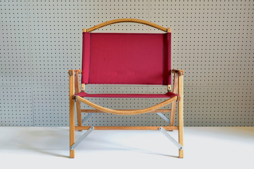 KERMIT WIDE CHAIR - BURGUNDY