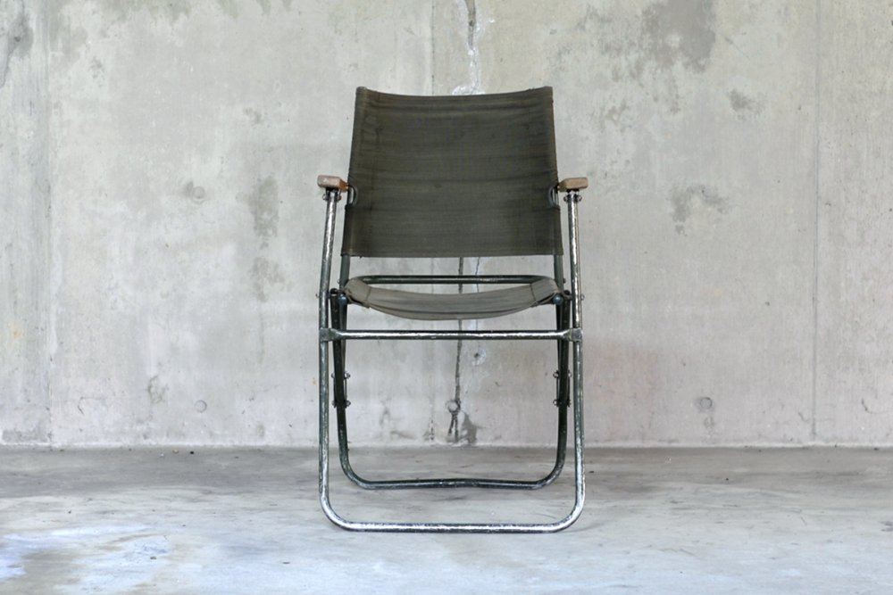 BRITISH ARMY FOLDING CHAIR / ROVER CHAIR - No._1005
