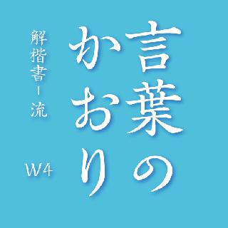 解楷書-流  W4  OpenType Std
