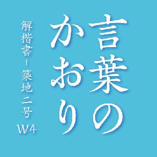 解楷書-解築二号 W4  OpenType Std