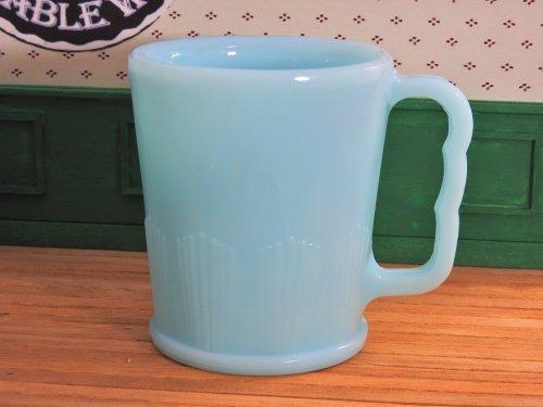 パイレックスカナダ ロビンズエッグブルーマグカップ#2