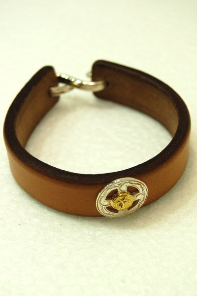 KEN KIKUCHI LEATHER BRACELET 2